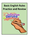 Basic English Rules Practice and Review - Activities and Worksheets