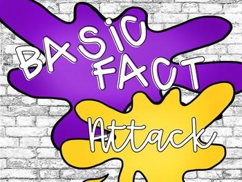 Basic Fact ATTACK - Digital CENTER!