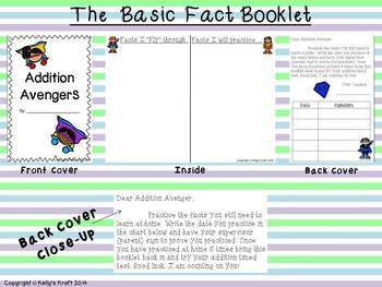 Basic Fact Booklet Bundle: All Operations