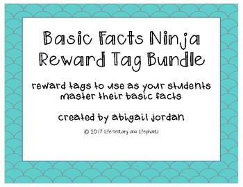 Basic Fact Brag Tag Bundle