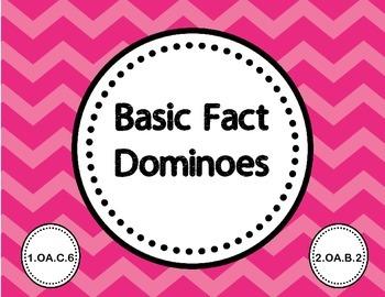Basic Fact Dominoes 1.OA.C.6  2.OA.B.2