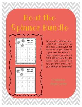 Basic Fact Fluency : Beat the Spinner