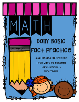 Basic Fact Practice Booklet + Games