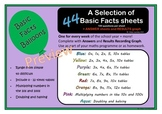 Basic Facts Balloons -100 mult. questions for every week o