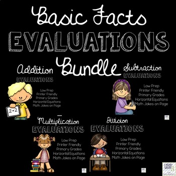 Basic Facts Evaluations Bundle