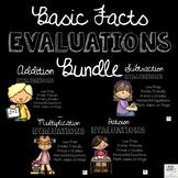 Basic Facts Evaluations Bundle