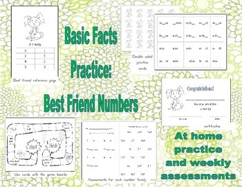 Basic Facts Mastery: An At Home Practice system to promote