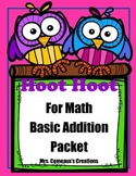 Basic Facts Math Addition Packet