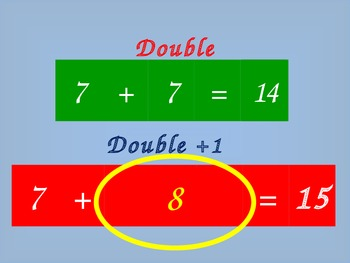 Basic Facts: Near Doubles