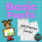 Basic Facts Practice Cards- All Grades