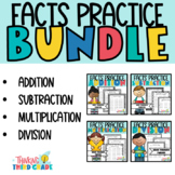 Addition, Subtraction, Multiplication, Division Practice W