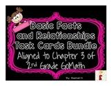 Basic Facts and Relationships Task Cards Bundle: Aligned t