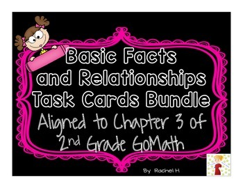 Basic Facts and Relationships Task Cards Bundle: Aligned t