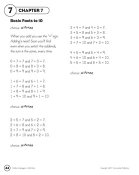Adding Basic Facts to 10 (Ten)  - MP3 Song w/ Lyrics & Activities (Common Core)
