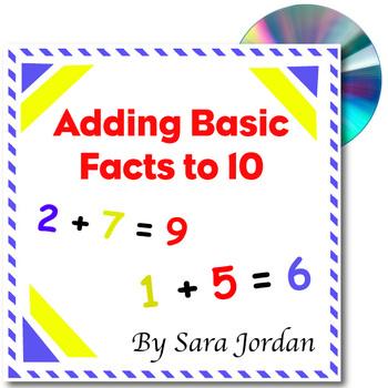 Adding Basic Facts to 10 (Ten)  - MP3 Song w/ Lyrics & Act