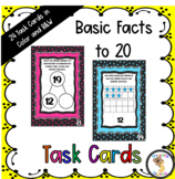 Basic Facts to 20 Task Cards