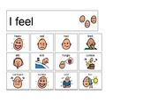 Basic Feelings (I feel ....) - Boardmaker