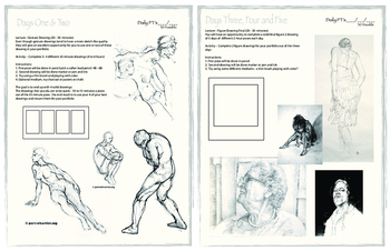 Basic Figure Drawing Project Packet