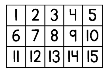 This is a photo of Epic Free Printable Numbers 1-50