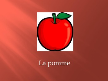 Basic Foods in French Vocabulary Flashcards