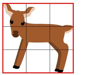 Basic Forest Animal Puzzles