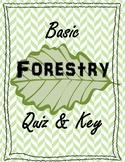 Basic Forestry Quiz & Key