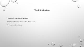 Basic Formatting for an Essay
