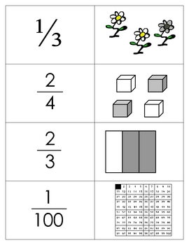 Basic Fraction Game   - Memory