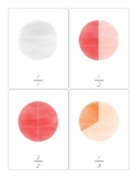 Basic Fractions 3 Part Cards