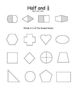 Basic Fractions: Half and Half