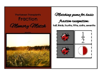 Basic Fractions Memory Match