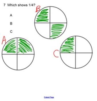 Basic Fractions Quiz