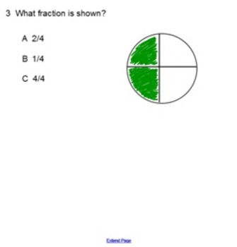 Basic Fractions Quiz