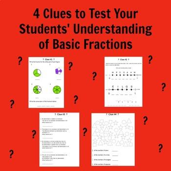 Basic Fractions Unlock the Box A Fun Math Mystery