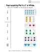 Basic Fractions Worksheets (Set of 4) NO PREP