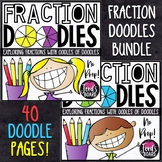 Equivalent Fractions Bundle | Fractions Color by Number Bundle