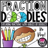 Basic Fractions and Equivalent Fractions Coloring Pages - Set 2