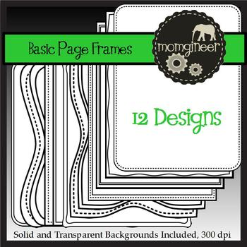 Basic Frames Pack (Commercial Use Graphics)
