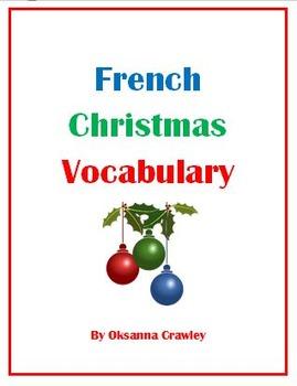 Basic French Christmas Vocabulary