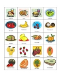 Basic French Food and Utensils Flash Cards