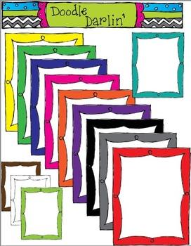 Basic Frilly Frames WITH CENTER