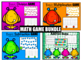 Basic Game Bundle: Addition, Subtraction, Multiplication &