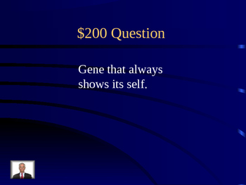 Basic Genetic Vocabulary Review Game