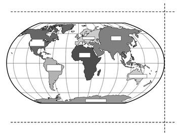 Basic Geography Foldable