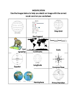Basic Geography Vocabulary Define and Illustrate