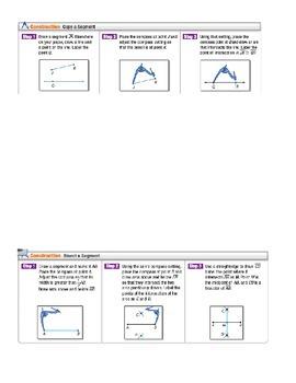 Basic Geometric Constructions