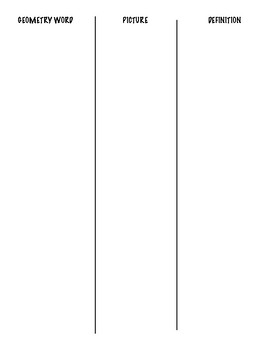 Basic Geometric Figures Matching