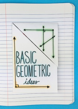 Doodle Notes - Basic Geometric Ideas Interactive Notebook Foldable