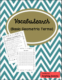 Basic Geometric Terms VocabuSearch