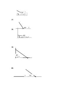Basic Geometry Assessment